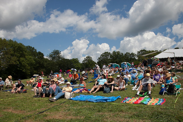 Saturday afternoon at the main stage concert. (Howard Pitkow/for Newsworks)
