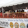 Yards Brewing Co. sponsored a beer tent which offered a shady place to hang out with friends. (Howard Pitkow/for Newsworks)