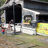 Groundz putting on the final touches in front of main stage. (Howard Pitkow/for Newsworks)