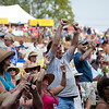 The Saturday afternoon crowd at main stage. (Howard Pitkow/for Newsworks)