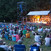 The Thursday night camper crowd at the concert.(Howard Pitkow/for Newsworks)