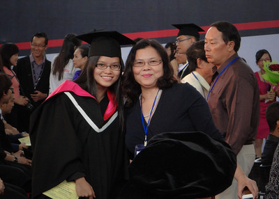 Quynh and her proud Mum.