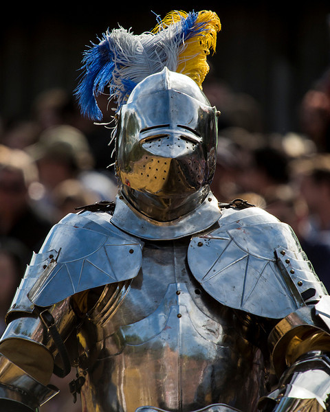 This season, we saw two outstanding women take their place at the round table of knights in full armor and gallop with swords in hand and lances at the jousts to unhorse their opponents.