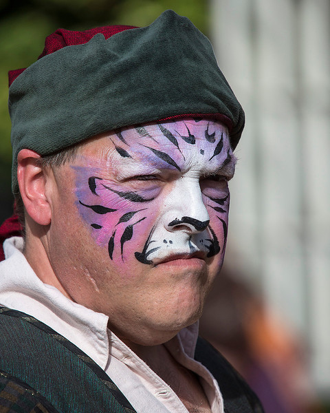 Every time I see this photo, I cannot help but think that the Bosuns Mate off the Black Pearl was in R&R at this event and while napping after some strong ale, one of the more adventurous deck hands saw him and decided to paint on the whiskers....