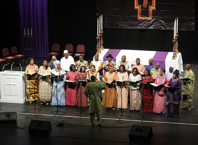 The Gambian Christian Organization of Atlanta Choir, based out of Immaculate Heart of Mary Church, Atlanta;