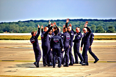 "US Air Force ""Thunderbirds"" Ground Crew"