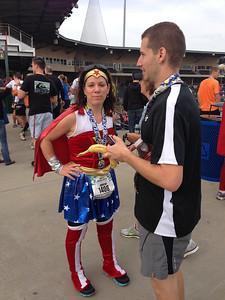 Spinx Half Marathon. Kristin