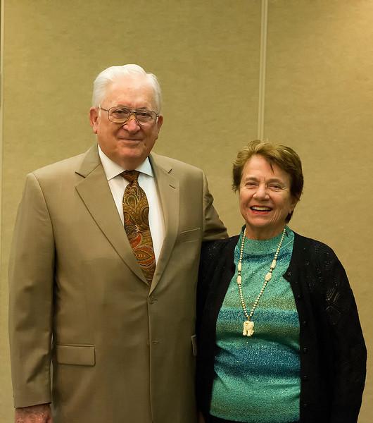 Don Aldridge and Lorna Rollag