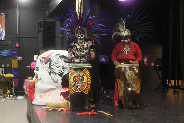 20121028 Dia de los Muertos Festival @MECA Day 2