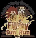 z z z Filthy Fun Run Logo PNG