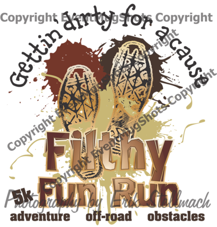 z z z Filthy Fun Run Logo PNG