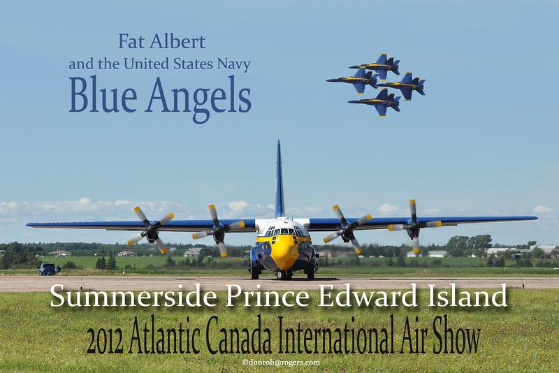 "Blue Angel Poster 1<br /> 12"" x 18"" Print"