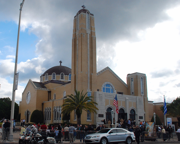 St Nicholas Greek Orthodox Cathedral in Tarpon Springs ,FL.