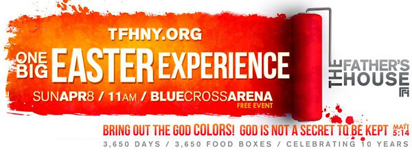 TFH Easter Event 2012 - Blue Cross Arena -  Rochester, NY TFHNY.org Copyright © 2011 Alex Emes All Rights Reserved.