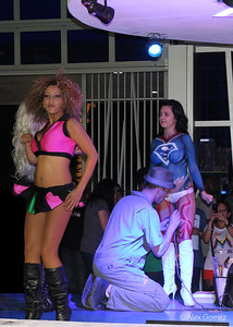 Body painting at the Clevelander at Marlins Park