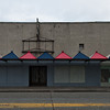 Old VFW Hall before the White Center Spring clean Mural is painted.