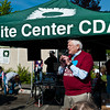 Jim McDermott delivers opening remarks at the White Center spring Clean