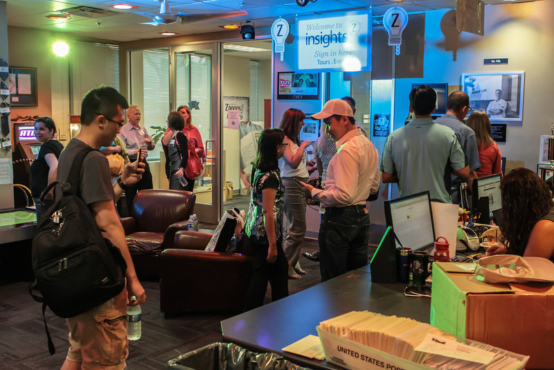 Zappos Insights Tour Lobby