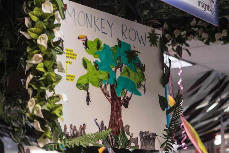 Monkey Row at Zappos