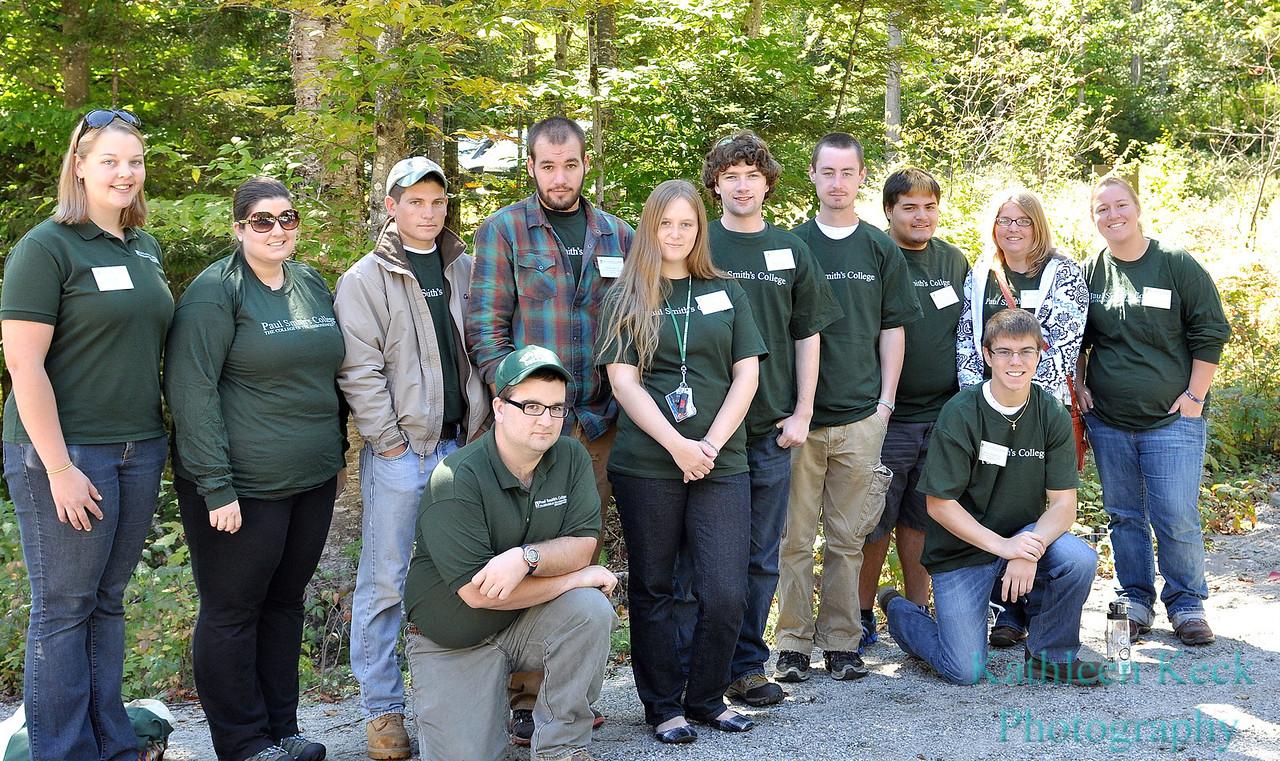 Student volunteers 1