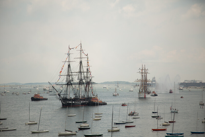 4th of July USS Constitution Turnaround