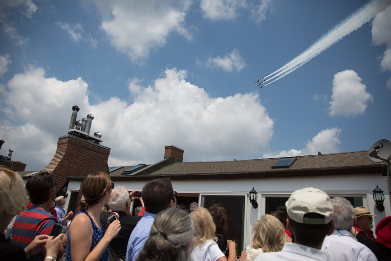 2012-07 | 4th of July USS Constitution Turnaround Blue Angels 154