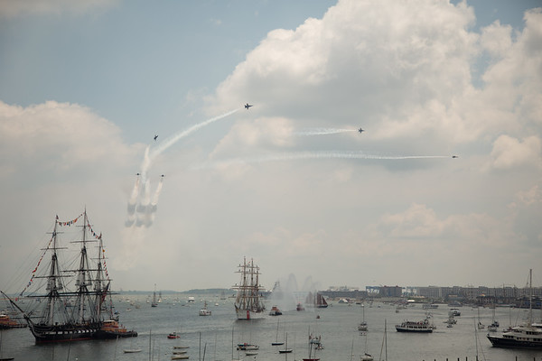 2012-07 | 4th of July USS Constitution Turnaround Blue Angels 190