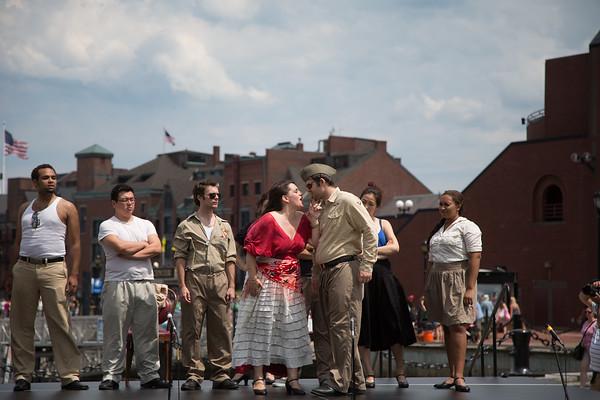 2012-07 | Carmen Opera by NEMPAC at Christopher Columbus Park