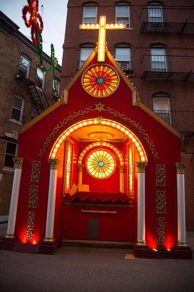 Saint Anthony's Feast Chapel at the Ready