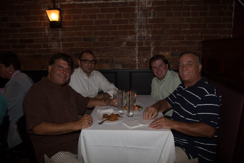Pictured: Joe Piantedosi, Jonathan Marks, Jim Economides and Lino DiSchino