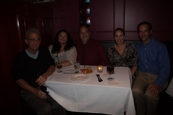 From the left, Carl Ameno (Nazzaro Center), Rosina Fabbo and John Romano (NEAD), Becca and Tim Griffin (NEMPAC)