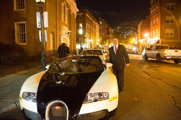 I lent my Bugatti to Donato