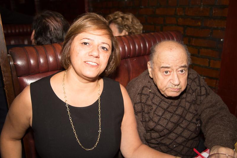 Anna and Arturo Frattaroli, Arturo is the husband of the late Lucia