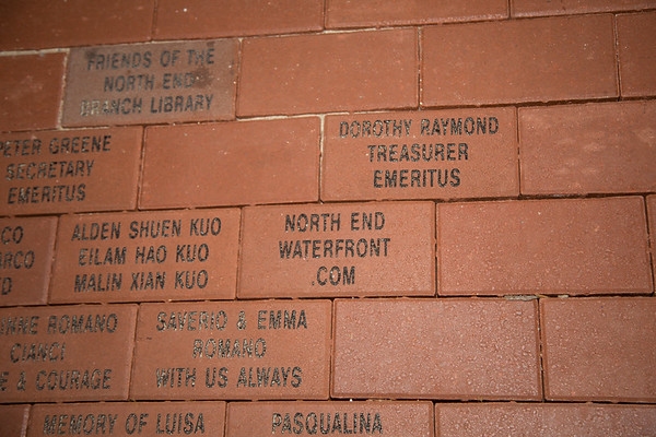 NorthEndWaterfront.com proud to be represented on the brick walkway.