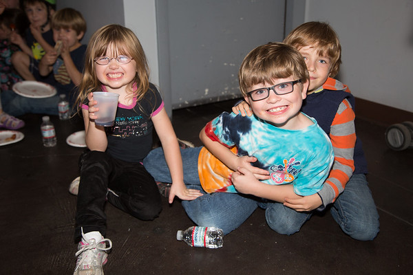It's all smiles at the NEAD Improv Party.