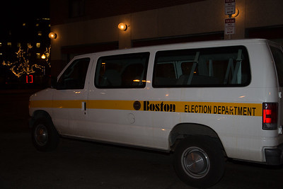 Election Department on the Scene (Photo by Matt Conti)