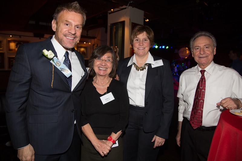 From the left, NEW Health President and Honoree, Jim Luisi, Zoila Feldman, Liz Turnock and Freddy Giangregorio