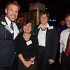 From the left, NEW Health President and Honoree, Jim Luisi, Zoila Feldman, Liz Turnock and Freddy Giangregorio - 2012-11-14 at 19-35-54