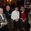 From the left, Mary Ann Howard, Tim Clifford, Marguerite Capozzi, Beth Mozuch and Linda Wrenn - 2012-11-14 at 19-36-36