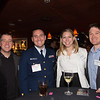 """At the St. John School, """"Make a Difference"""" Event. From the left, Sean, Lt. Garrett, Elle and Lt. Preston."""