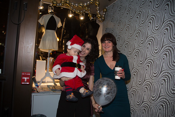 Erin, Natalie and little Declan at LIT Boutique on Hanover Street