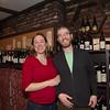 The Wine Bottega's Kerri and Ryan on Hanover Street