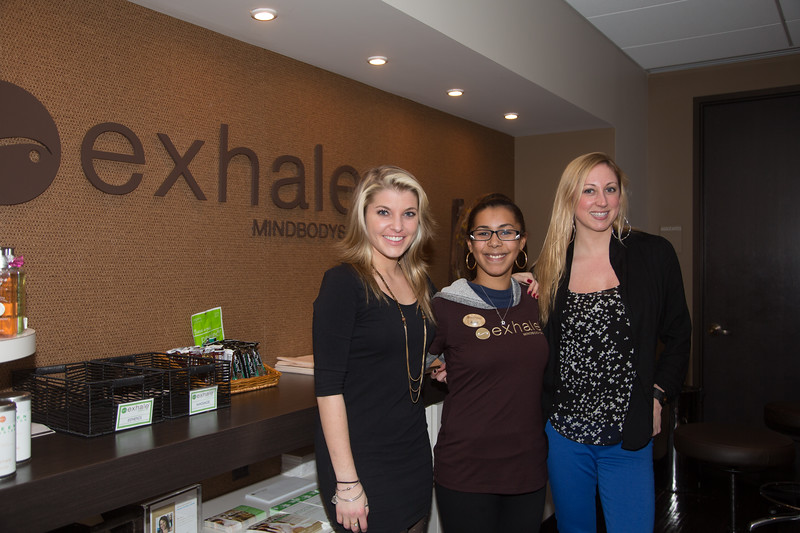 Exhale Spa at the Fairmont Battery Wharf