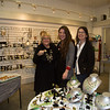 Darlene (right), Ashleigh (center) and Merillee at High Gear Jewelry on Hanover Street