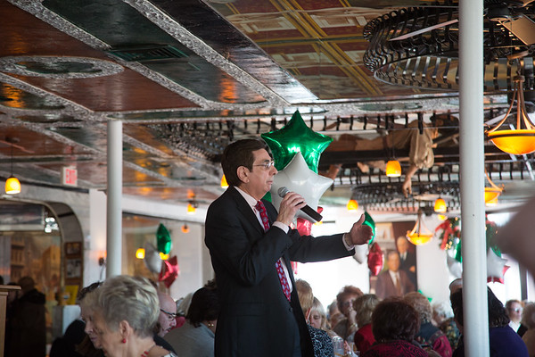 Ted Tomasone chairs the committee for the North End Christmas Fund Luncheon