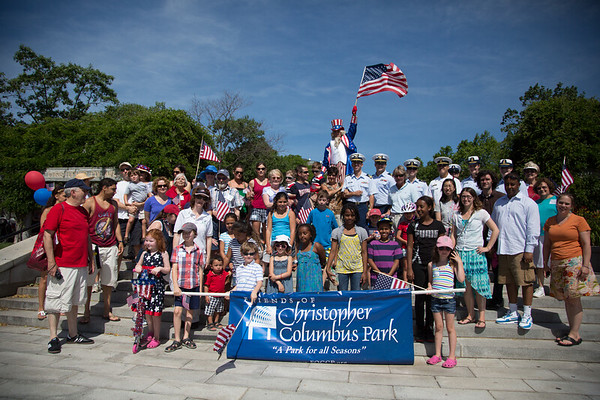 2012-07 | 4th of July FOCCP Family Fun Day at Christopher Columbus Park - June 2012