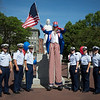 US Coast Guard with Uncle Sam at Christopher Columbus Park - July 2012 - Photo by Matt Conti - 2012-06-30 at 09-49-13