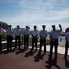 US Coast Guard at Tall Ships Family Fun Day at Christopher Columbus Park - 2012-06-30 at 10-09-08