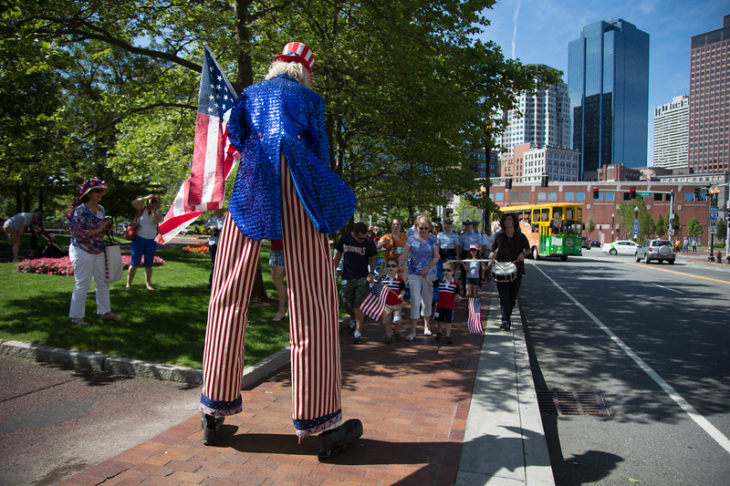 Is it a monster? No, it's just Uncle Sam on stilts! - 2012-06-30 at 10-00-39