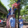 Councilor Sal LaMattina with FOCCP President Joanne Hayes-Rines and Uncle Sam! - 2012-06-30 at 11-05-23